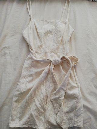 Atoms & Here White Dress
