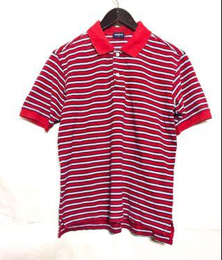 Uniqlo polo stripe shirt