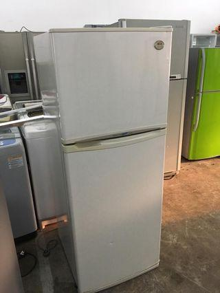 FRIDGE DOUBLE DOOR LG REFRIGERATOR PETI SEJUK REFURBISHED ICE AIS
