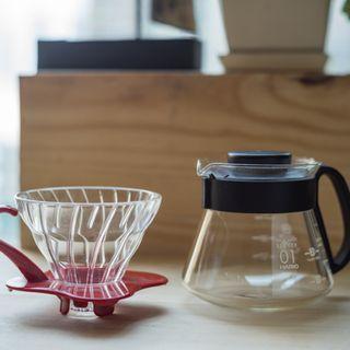日本 HARIO V60玻璃濾杯 + 咖啡壺