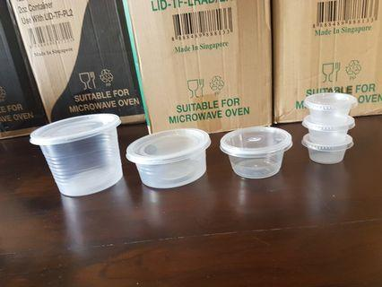 Disposable Containers - 1 Lot