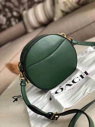 Coach bag Green spot, korean cowhide