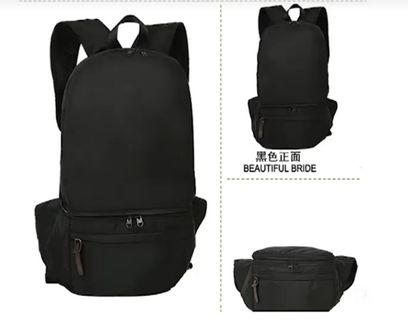🚚 PO. Foldable backpack