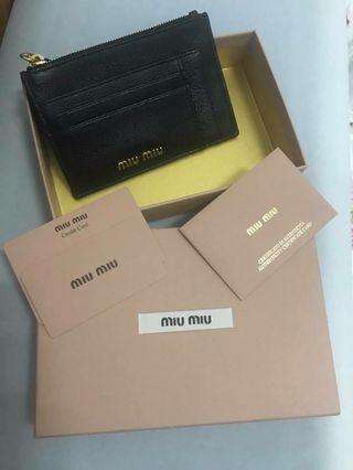 Miu Miu 零錢卡夾包(正貨)