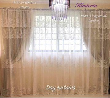 Brand new Victorian valence long curtains