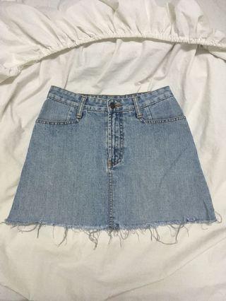 Original chevingnon denim skirt