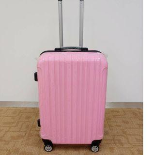 NEW 24 INCH EXPANDABLE LUGGAGE BAG (SWEET PINK)