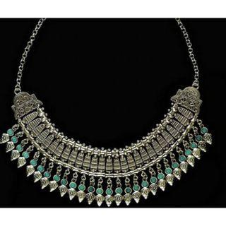 Brand New Gypsy Tibet Collar Bib Necklace