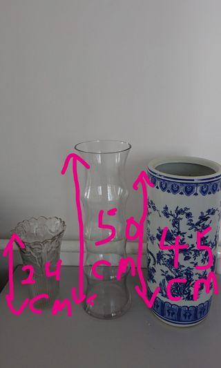 🚚 Vases and pots (see dimensions in picture)