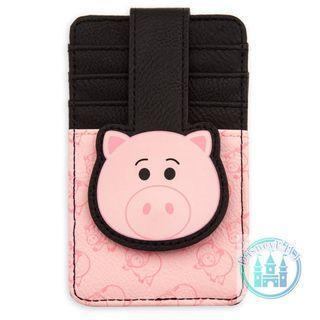 🇺🇸us disneystore toystory 火腿卡片套 Hamm Card Holder Wallet
