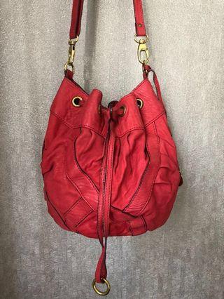Rabeanco leather sling bag