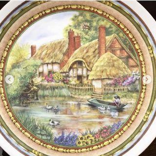 Decorative Plate Duck Bavarian Heritage Germany