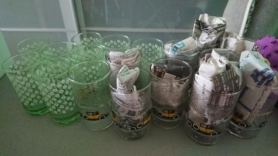 Glass 18pcs