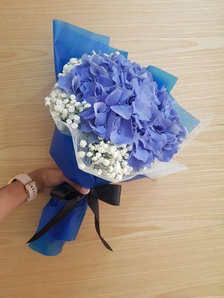 Hydrangea Bouquet | Fresh Flowers Bouquet | Mother's Day Bouquet #02