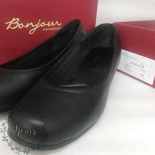 🚚 🇹🇼 Bonjour 357加強版AIR氣墊工作鞋(4E牛革製Work Shoes)尺寸24九成新 入購價1280 附官網照
