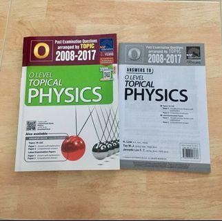 O Level Topical Physics TYS