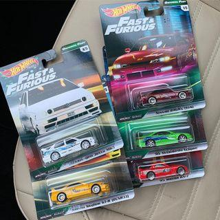 Hot Wheels fast and furious wave 2