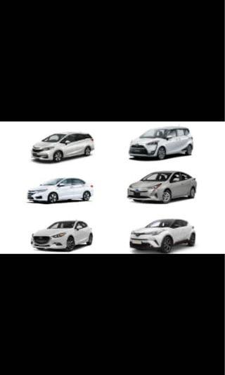 RENTAL OF NEW CARS