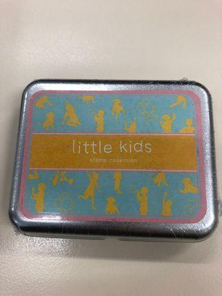 韓國印仔 little kids stamp collection