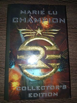 Champion - Marie Lu Limited Signed Collector's Edition