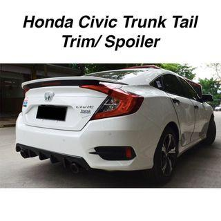 Honda Civic FC Trunk Tail Trim/ Spoiler- Reflect Strip
