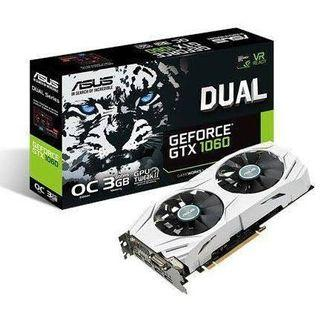 ASUS Geforce GTX 1060 3GB OC Edition