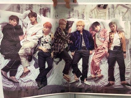 🚚 BTS TWO SIDED POSTER