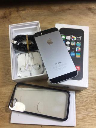 Iphone 5s 64gb grey fullset ex inter normal dan lancar