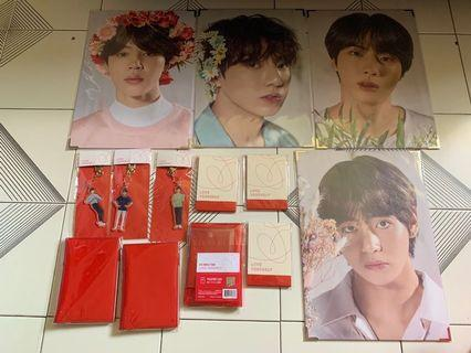 BTS LY Japan merchandise clearance