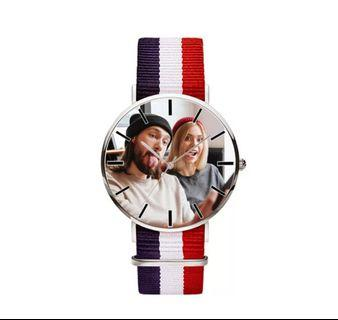 Custom Print Photo Watches   Best Personalized Stripes Watches