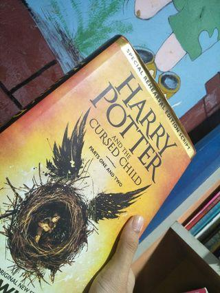 HARRY POTTER AND THE CURSED CHILD OFFICIAL FIRST EDITION