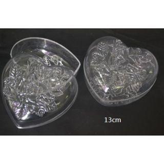 Set of 2 Plastic Accessories Box -about 13cm