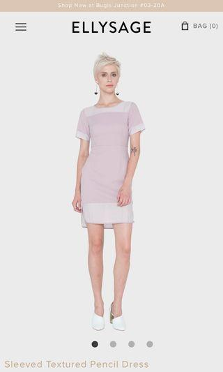 Ellysage mesh panel dress