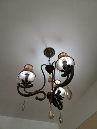 復古節能吊燈