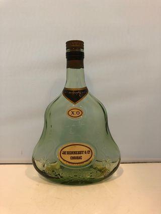 Hennessy XO Cognac 軒尼詩舊裝牛仔字青樽(青三)吉樽一個