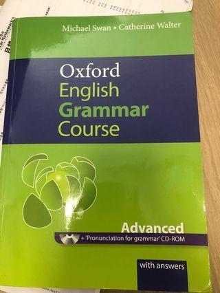 Oxford English Grammar 原價300(淨係做左幾版 其他全新)