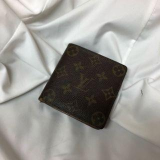 Louis Vuitton 老花 短夾 便宜出 瑞奇二手精品