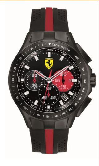 "Bn Scuderia Ferrari ""Race Day"" Men's Chronograph Watch"