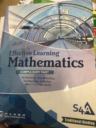 中大 Maths S4A