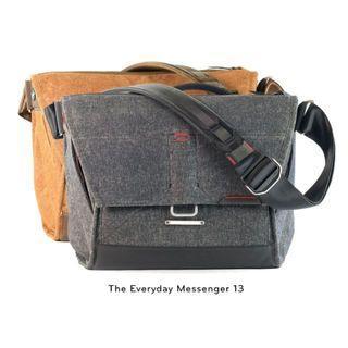 "🚚 Peak Design Everyday Messenger Bag 13"" Small - Heritage Tan or Charcoal *NEW*"