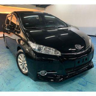 正2013年 最新款2.5代七速Toyota Wish 2.0E  破盤價35.8萬