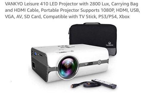 LED Projector 2800 Lumens