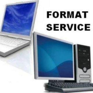 Servis format komputer / laptop