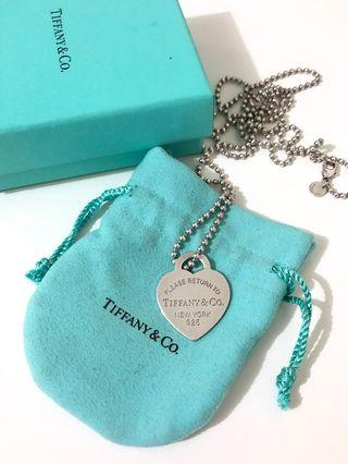 Tiffany & co return to Tiffany heart tag pendant large