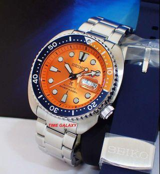 "Brand New SEIKO Prospex SRPC95K1 ""NEMO"" Limited Edition Turtle 45mm Automatic Diver's stainless steel Watch."