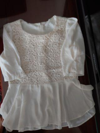 Ladies Lace Top Made in Korea