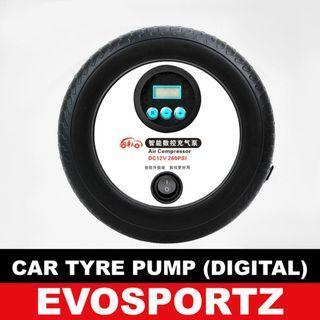 Portable Pump for Car Tyre -Digital Version