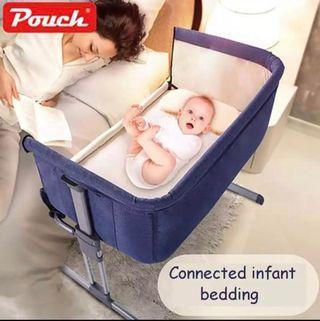Baby Crib Travel Infant Bed Sleeper Portable Cot Folding Cradle Newborn