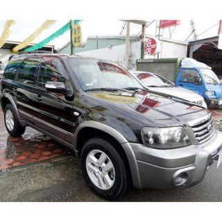 2007 FORD ESCAPE 福特 艾斯卡佩 2.3 黑 2WD