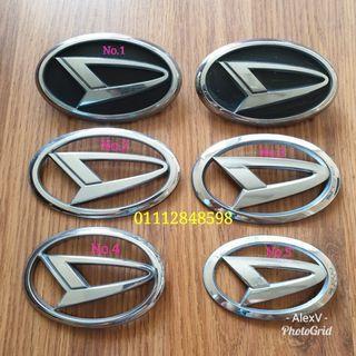 Daihatsu Logo Emblems Japan